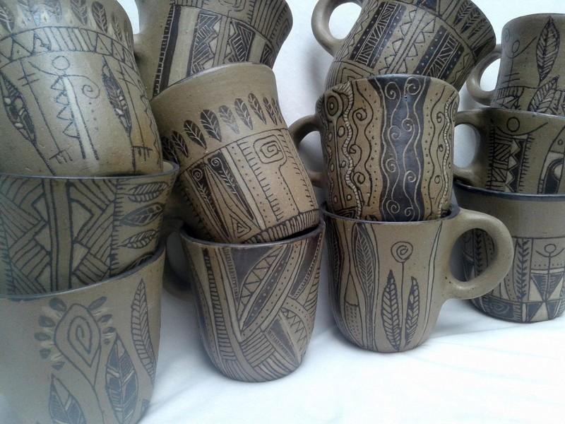 Nuevas tazas en Mishima Gres